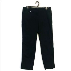White House Black Market black Slim Ankle Pants